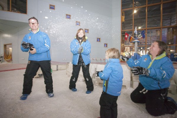 Children playing at the Chill Factore