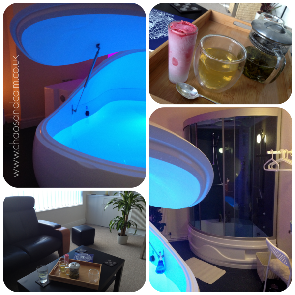 Float Beyond Spa Collage