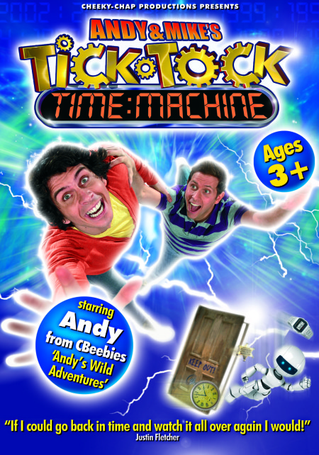 Andy and Mike's Tick Tock Time Machine